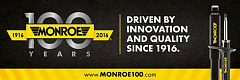 Tenneco celebrates 100 years of Monroe®, highlights latest technologies at Automechanika