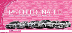 This woman's month, Subaru teams up with Pinkdrive to promote breast cancer awareness & prevention