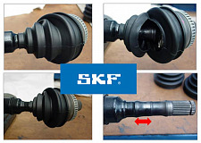 SKF Technical Bulletin - VKJP 3017: Importance of the correct boot tightening