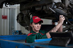 Save when servicing your car