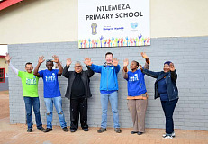 Volkswagen volunteers living the spirit of Madiba