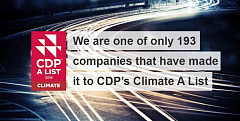 PSA Group recognised as world leader for corporate action on climate change