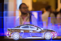 Connected cars took centre stage at the world's leading trade fair