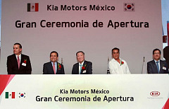 KIA officially opens Mexico production facility