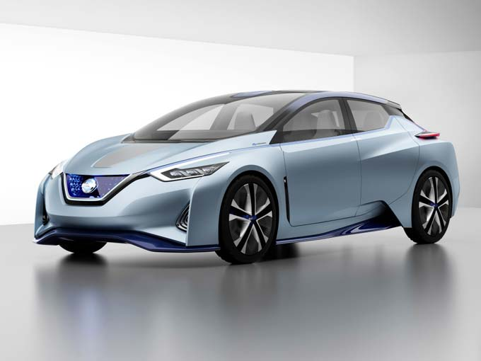 Nissan IDS Concept: Nissan's vision for the future of EVs and autonomous driving