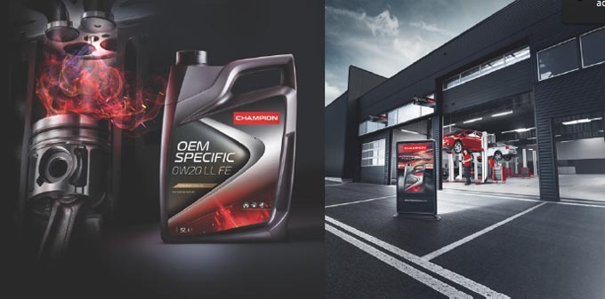 Discover European quality, high performing lubricants of Champion at Automechanika Dubai 2018