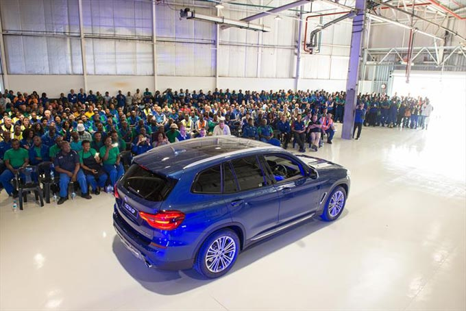 BMW Group South Africa starts production of the new BMW X3 at its Rosslyn plant