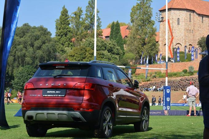Haval's now part of the great rugby-playing sa lifestyle