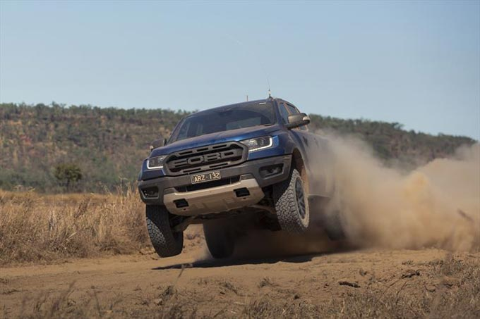 New Bad-Ass Ford Ranger Raptor is Coming to Europe - Ultimate Performance Pick-up Breaks Cover at Gamescom