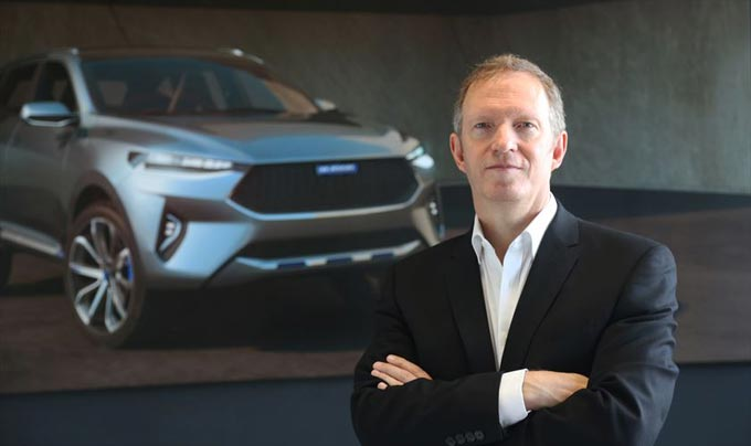 Phil Simmons is appointed as Design Director of Haval