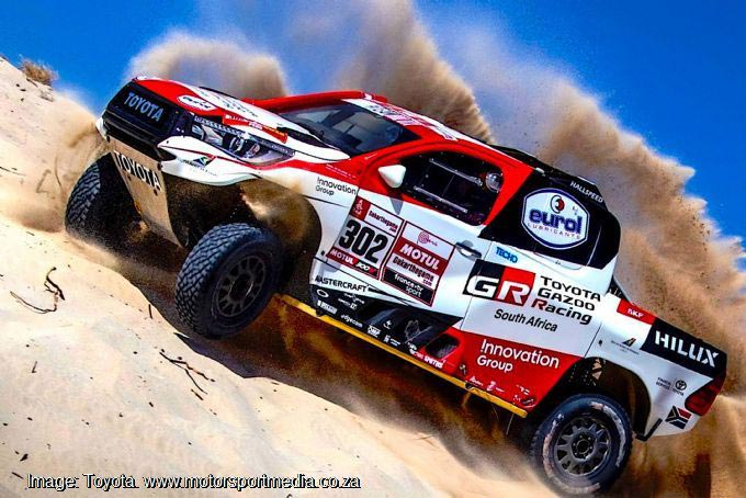Epic 2019 race a true test of the dunes