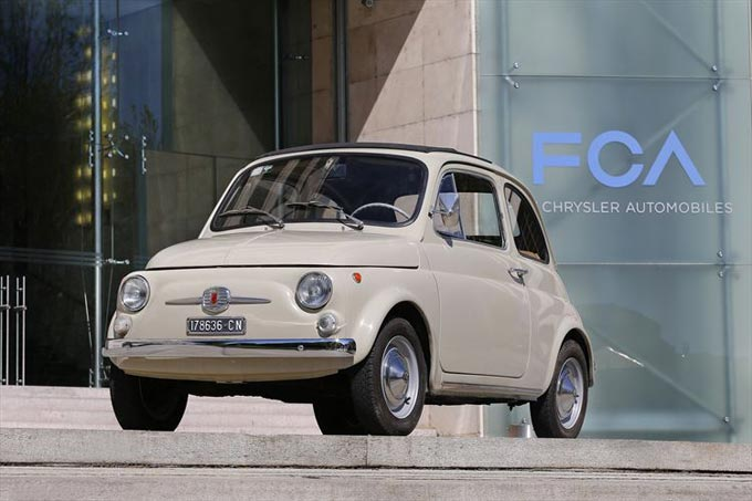 Fiat 500 on public display at The Museum of Modern Art in New York this spring as part of The Value of Good Design Exhibition