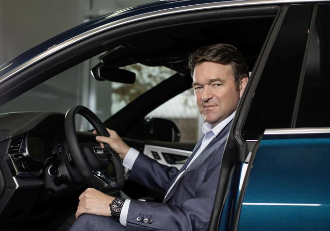 Bram Schot Chairman of the Board of Management of Audi AG and Member of the Board of Managemnet for Sales and Marketing