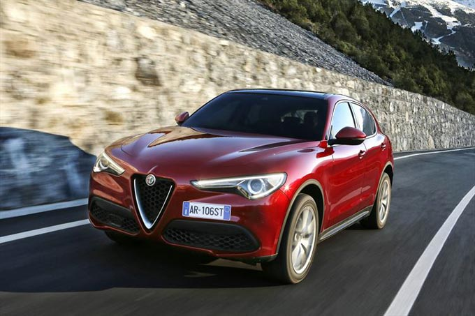 Goodyear's Eagle F1 Asymmetric 3 SUV Ultra-High Performance tyre chosen by Alfa Romeo for the new Stelvio