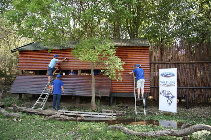 Ford Volunteers Assist 30 Organisations in SSA during Global Month of Caring