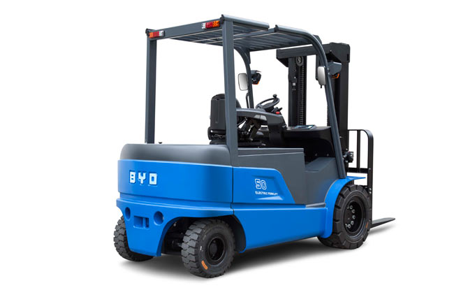 BYD Forklift again nominated for International Forklift of the Year Award