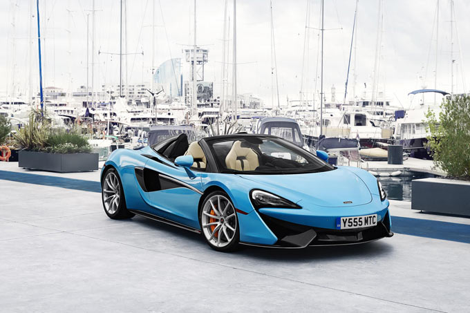 McLaren automotive achieves another year of record sales in 2017