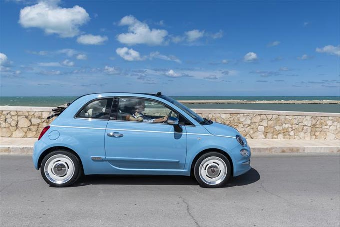 Exclusive Fiat 500 Spiaggina 58 Is The Special Birthday Tribute