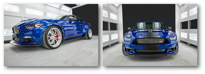 The 50th Anniversary Wide body Shelby Super Snake is here!