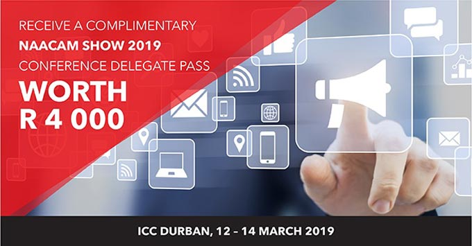 NAACAM Show 2019: Stand a chance to win a conference delegate ticket
