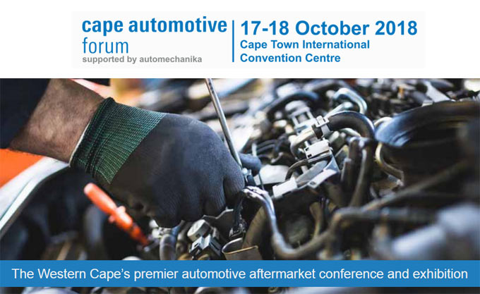 Medium- and long-term prospects of SA motor industry will be an important topic at Cape Automotive Forum 2018