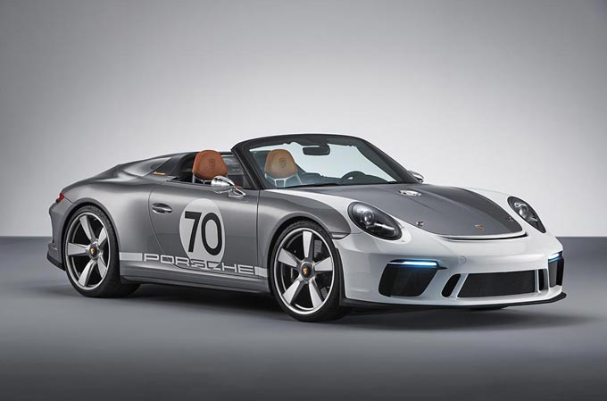 The Porsche 911 Speedster Concept: open-top, pure and with over 500 hp