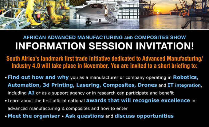 Information Briefing Sessions - African Advanced Manufacturing and Composites Show