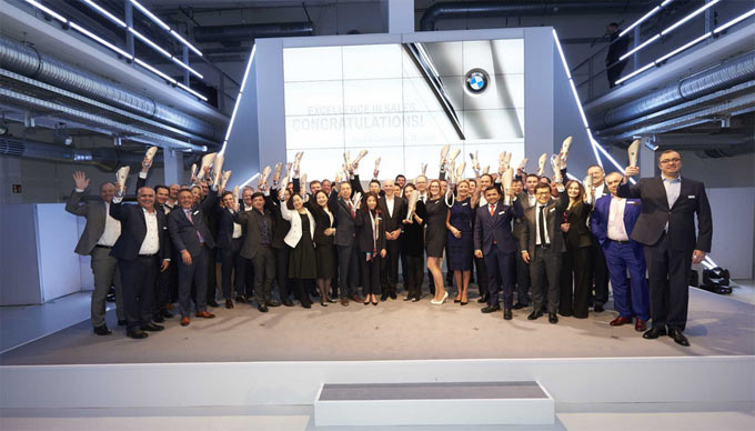 The best BMW dealers in the world. BMW celebrates its dealers with the Excellence in Sales Award
