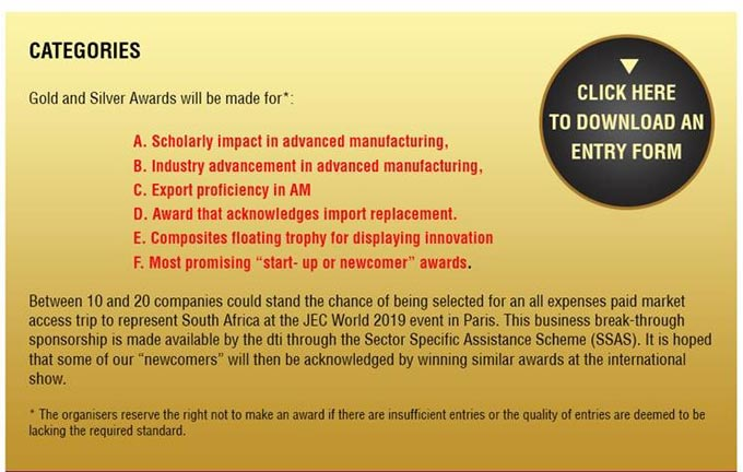 Advanced Manufacturing Innovation Awards - Recognising