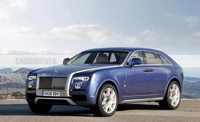 Rolls-Royce launches Cullinan in to the SUV market