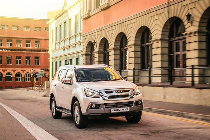 Isuzu mu-X takes aim at fast-growing SUV segment
