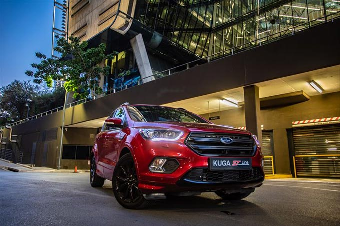 Ford Kuga Gains Sporty St Line Frugal   Tdci Added