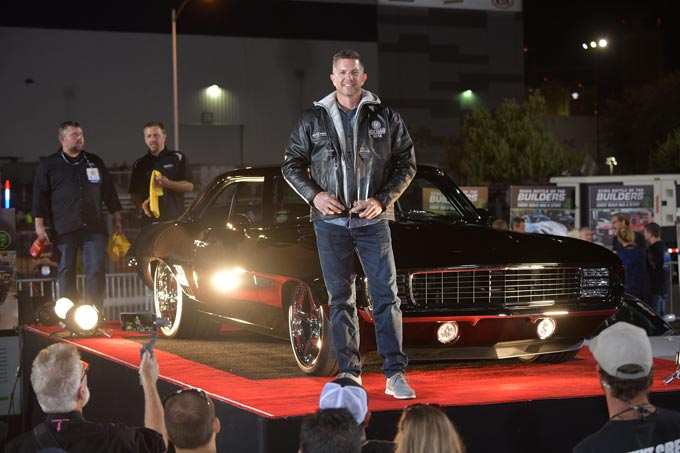 Kyle Tucker was crowned winner of the fifth-annual SEMA Battle of the Builders® competition for his 1969 Chevy Camaro