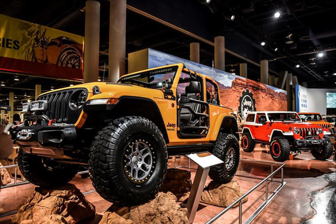 Jeep Brand at the 2018 SEMA Show