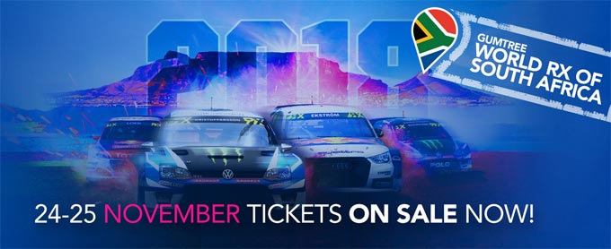 Gumtree World RallyCross of South Africa - A plethora of racing!