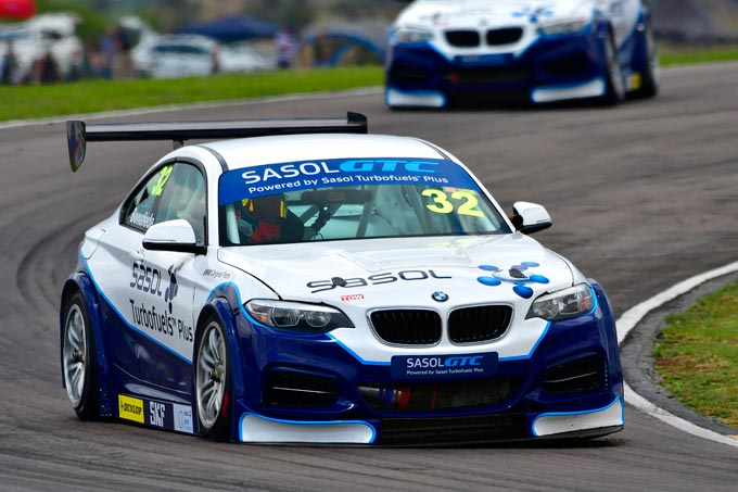 Nail-biting season finale for the Sasol GTC Racing Team