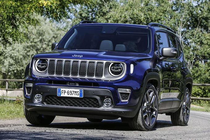 Melfi Plant prepares for production of new Jeep Renegade Plug-in Hybrid