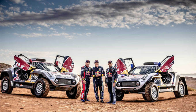 MINI announces X-raid MINI JCW Team participation at 2019 Dakar.