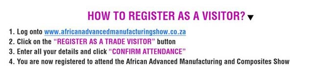 Engage with Global Buyers at the African Advanced Manufacturing and Composites Show