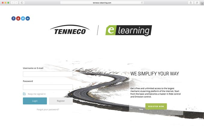 Tenneco launches elearning platform for distributors and installers