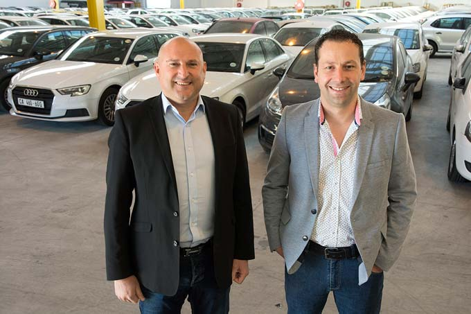 William Miller & Renaldo de Jager, co-founders of auction.co.za