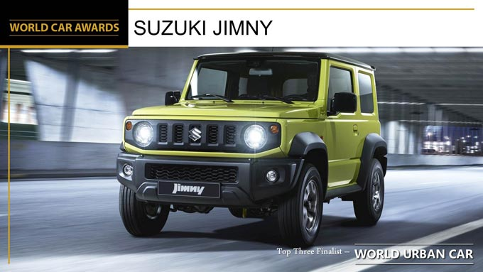 2019 World Car Awards and now there is one… Suzuki Jimny  – 2019 World Urban Car