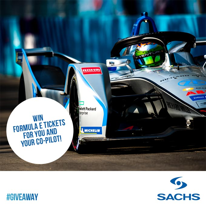 Sachs brand supports Formula E with winning Social Media campaign