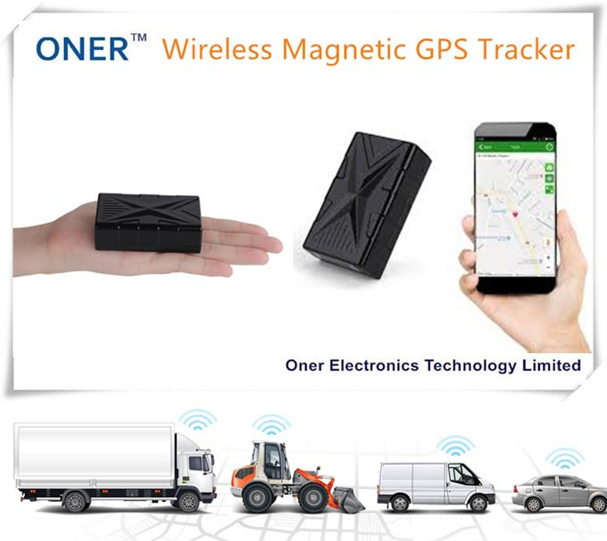 Wireless Magnetic GPS Tracker Car Vehicle Real Time Tracking