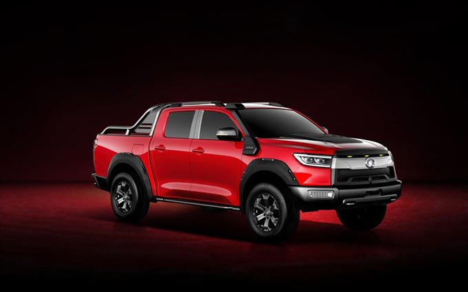 Official Pictures of All New Off-road Great Wall Pickup have been released