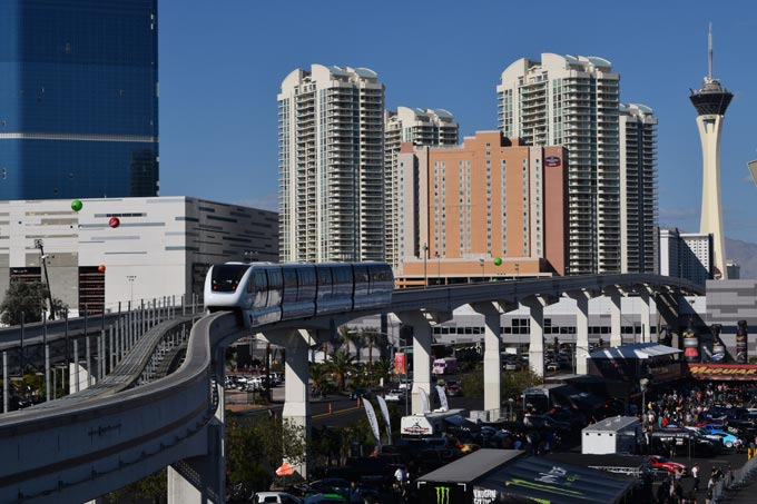 SEMA Show offers great alternatives to parking