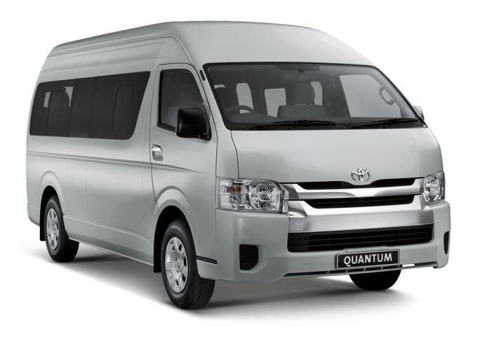 14-seater Hiace re-introduced due to popular demand