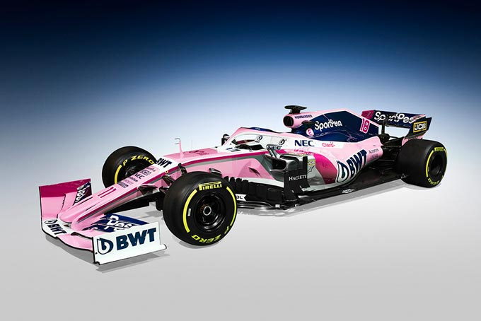 BWT's Pink continues to light up Formula 1 in 2019