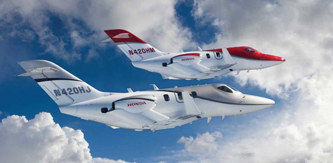 The HondaJet is the Most Delivered Aircraft in its Class for the Second Consecutive Year