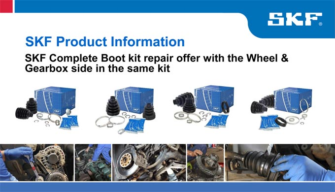 SKF Complete Boot kit repair offer